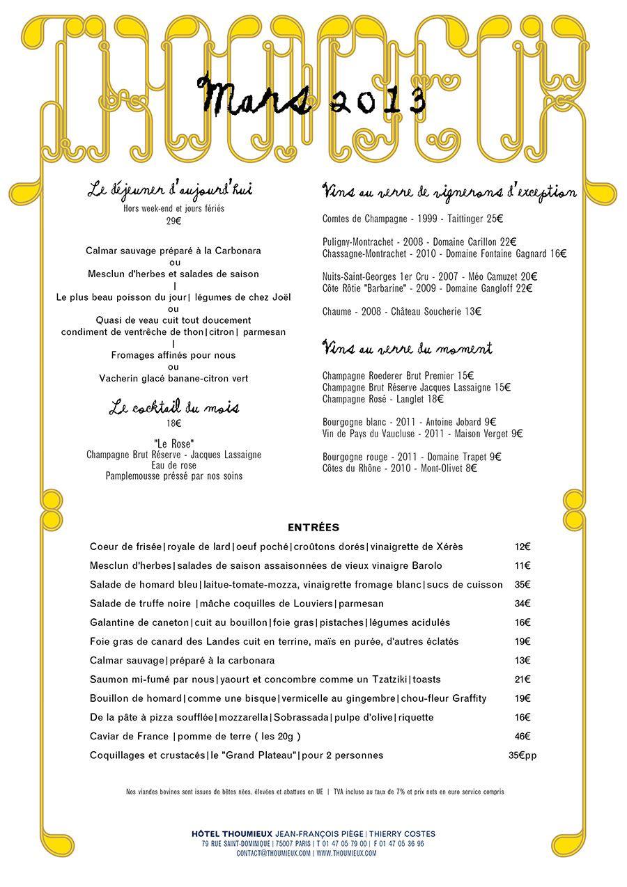 Hotel Thoumieux Paris Lucywillshowyou : cartebrasseriemars20131900x from www.lucywillshowyou.com size 900 x 1274 jpeg 192kB