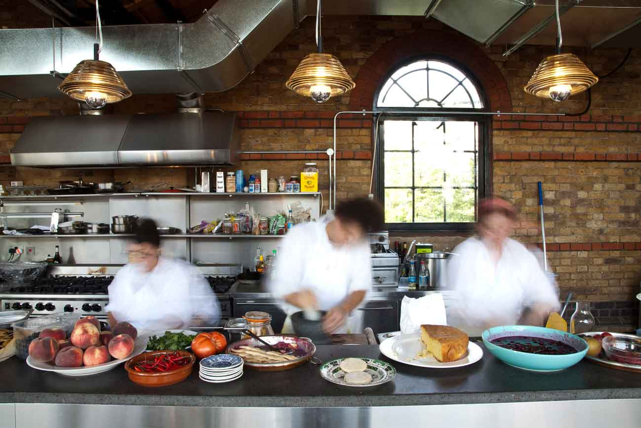 The dock kitchen london lucywillshowyou for The kitchen restaurant
