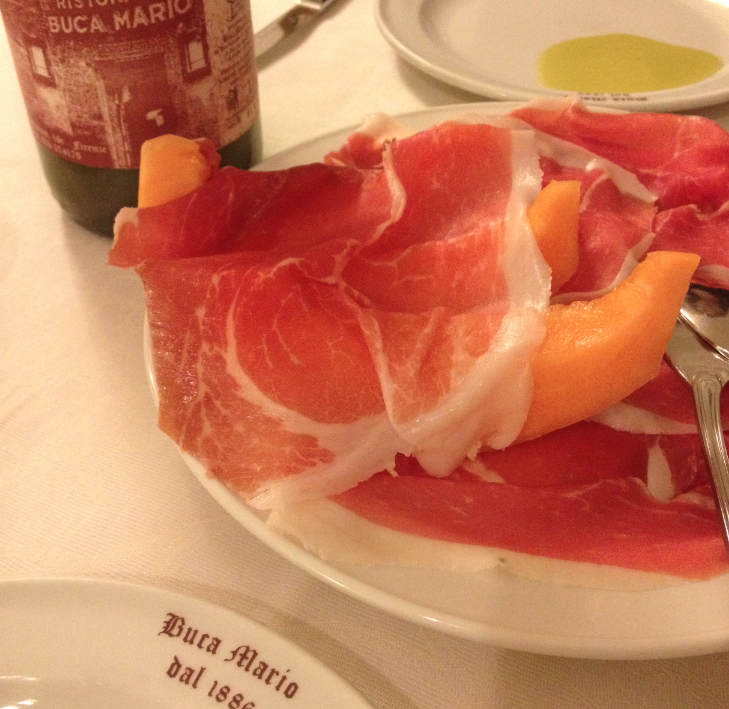 Dinner at Buca Mario