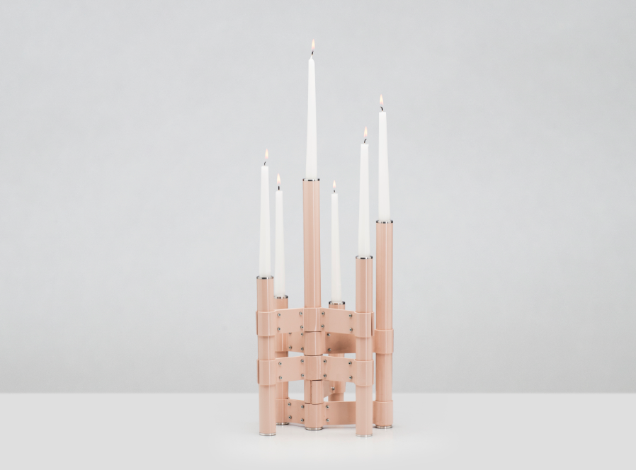 GAIA&GINO Fluke, Candle holders by Annette Hinterwirth_Lifestyle