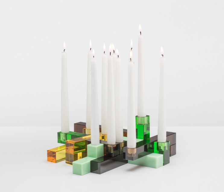 GAIA&GINO Siluet, Candleholders by PearsonLloyd