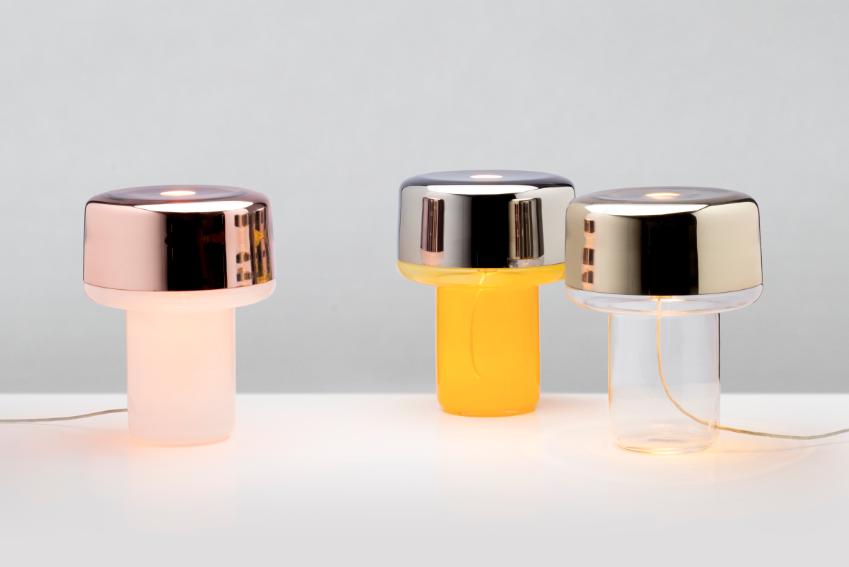 Verreum Bruno, Table Lamps by Karim Rashid_Lifestyle