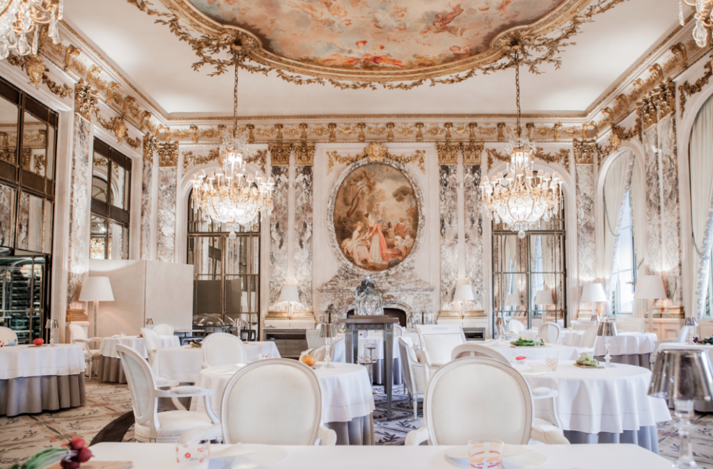 Paris In The Spring Gt Gt Lunch At Le Dal 237 Le Meurice Hotel