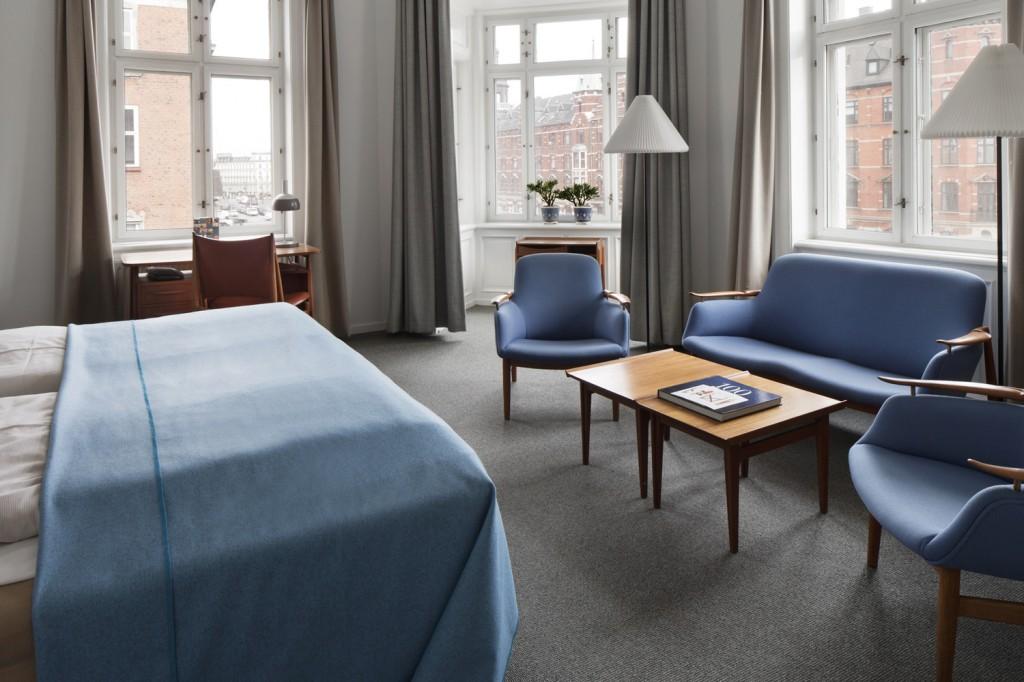 Finn Juhl room at Hotel Alexandra