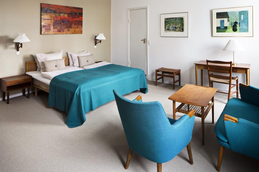 The Wegner room at Hotel Alexandra