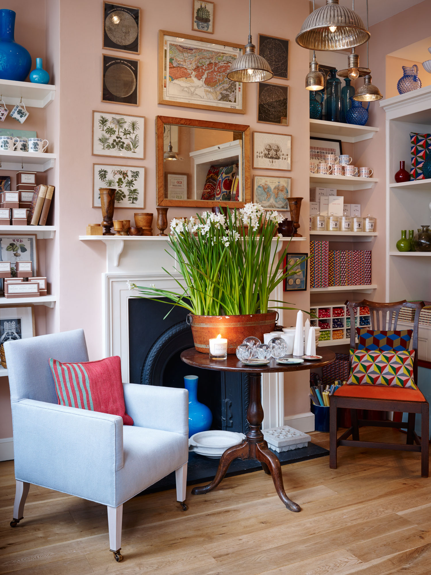 London Interior Shops Design is a journey of discovery