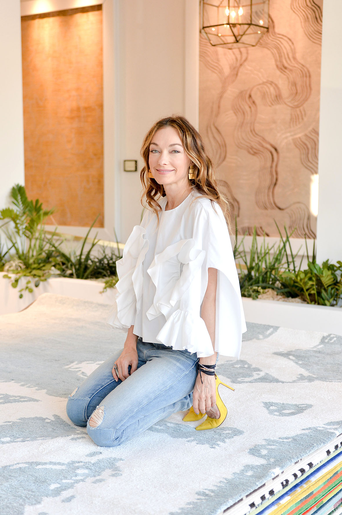 An interview with kelly wearstler for the rug company Kelly wearstler bio